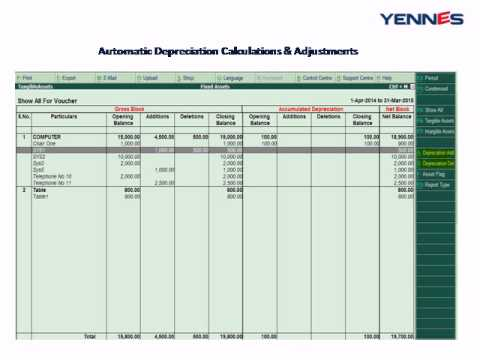 fixed assets register - photo #35