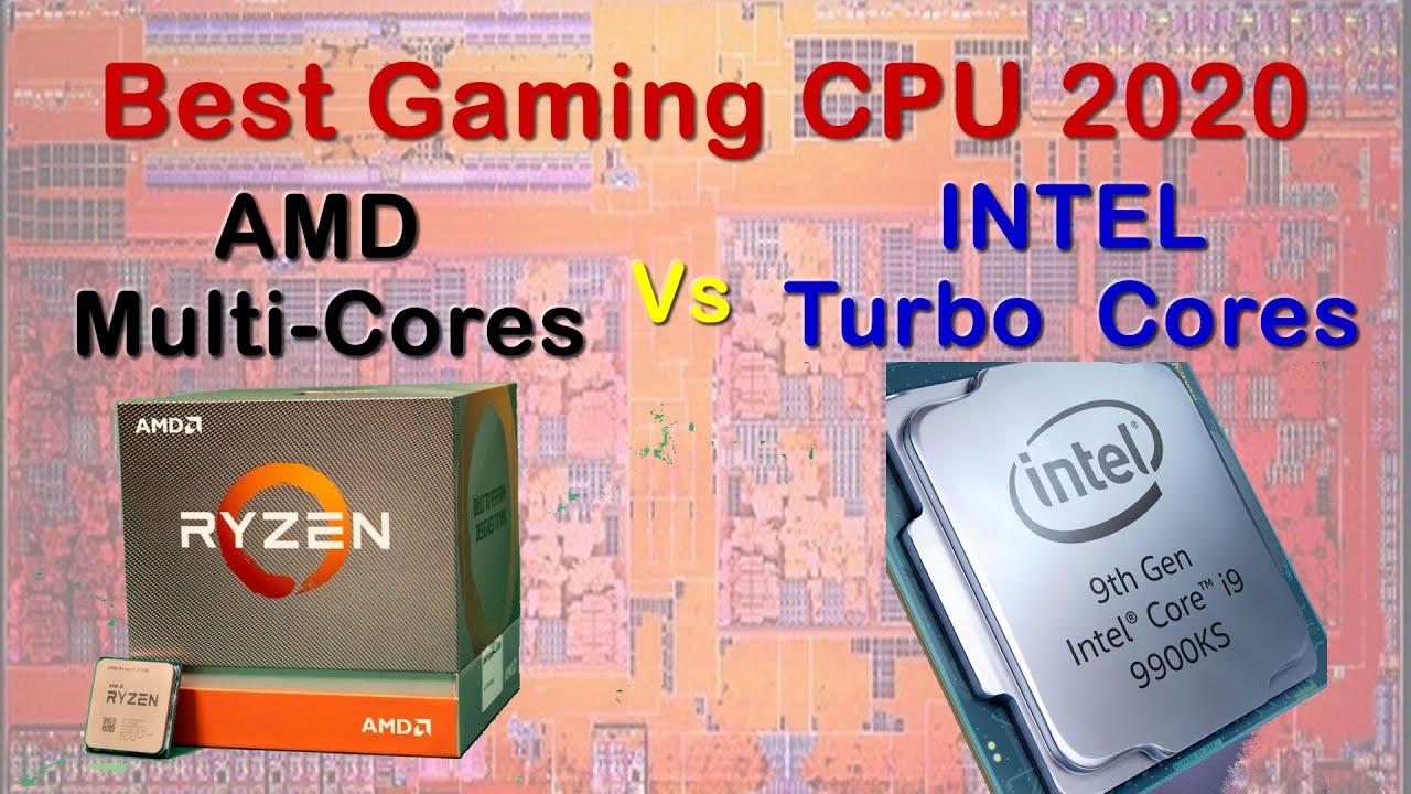 Amd Multi Cores Vs Intel Turbo Cores Best Gaming Cpus 2020 3900x 3950x 9900k Or 9900ks Youtube