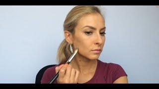 Коррекция лица.Контурирование.Моделирование. Урок макияжа 3.