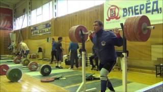 Dmitry klokov paused squats (short version)