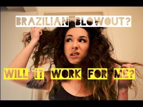 Brazilian Blowout review - YouTube