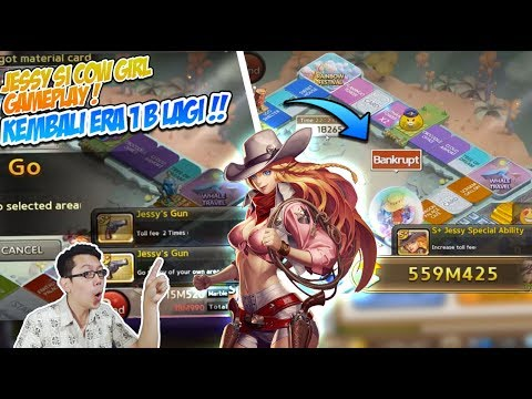 Line get rich : kombinasi Jessy cow girl & Ancient dice, musuh vangkrutt parahh !