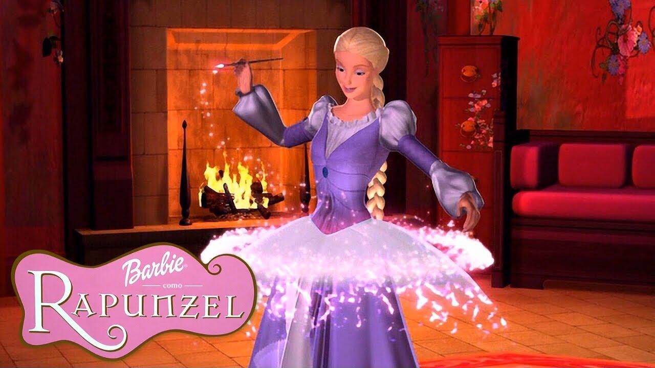 Barbie™ Rapunzel | Preparando-se para o Baile de Máscaras!
