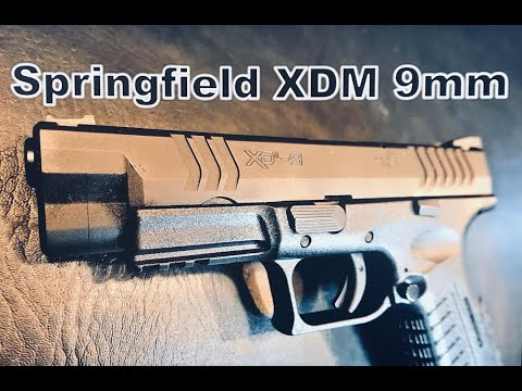 Springfield XDM 4.5 (9MM) Full Review | Unboxing | First Mag Impressions