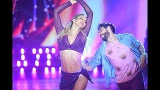 Flor Vigna y Gonzalo Gerber bailaron su último cuarteto en la semifinal