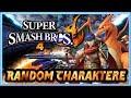 Super Smash Bros WiiU ★ Random Charaktere und Random Maps!