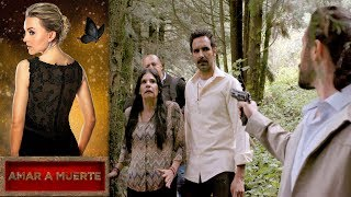 La vida de Beltrán y Barbara en peligro   Amar a muerte - Televisa