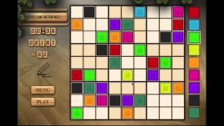 How To Play Color Sudoku - Solitaire All In One HD
