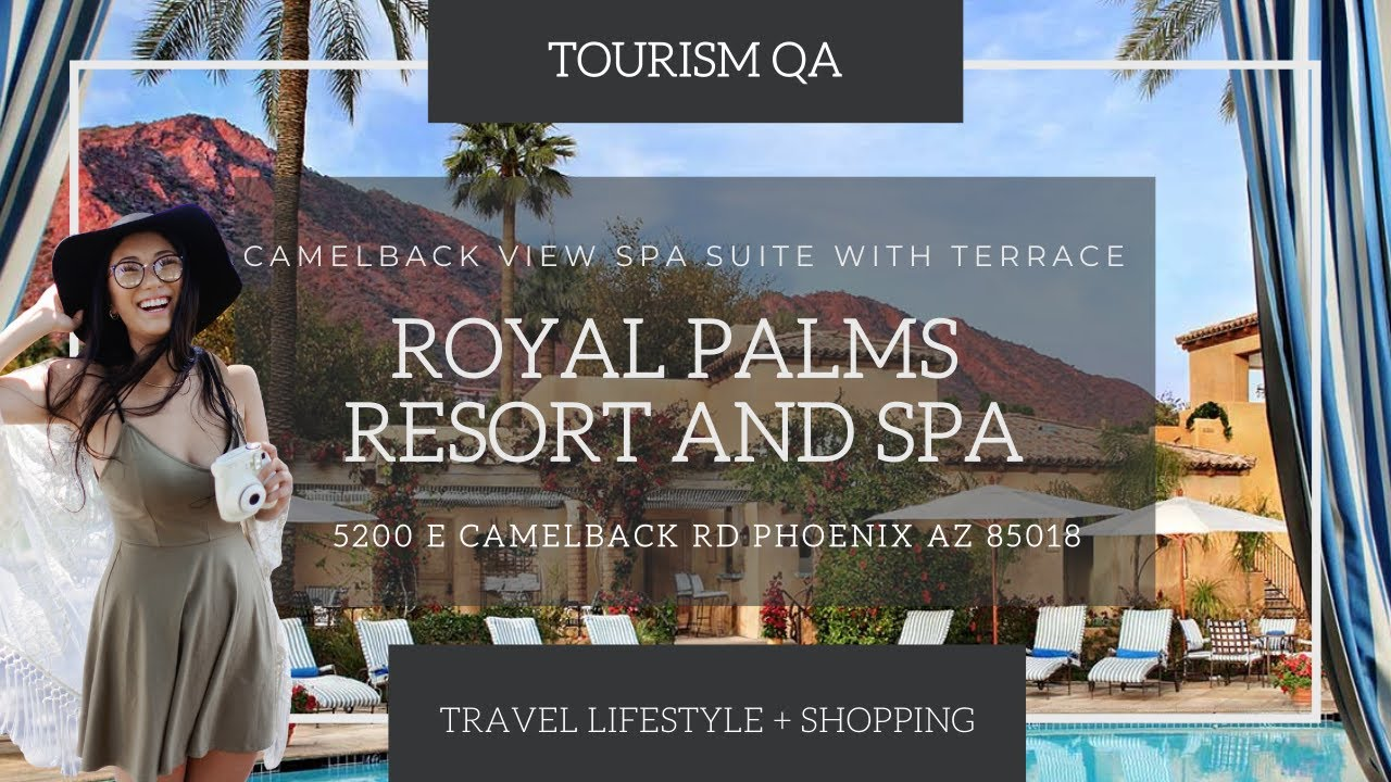 ROYAL PALMS RESORT AND SPA | SPA SUITE TOUR | WINTER 2021