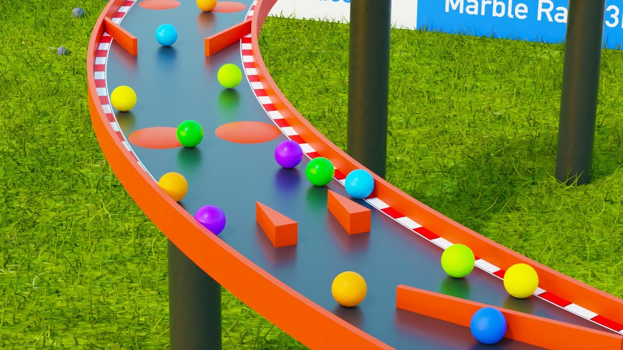 Marble Race Teams 3D Colors - Marble Race 2020