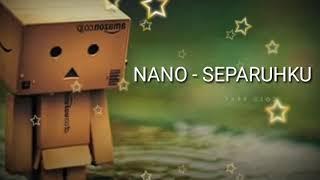 Gambar cover Nano-separuhku (danbo+lyrik)