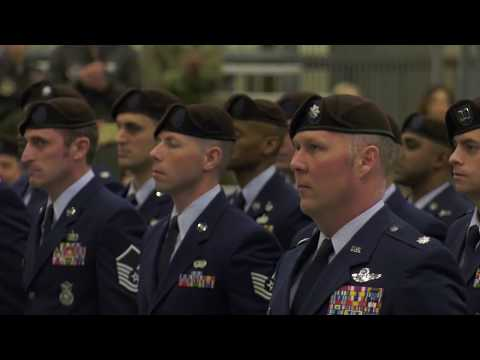 Combat Aviation Advisors' BROWN BERET Ceremony at AFSOC (Air Force Special Operations Command)