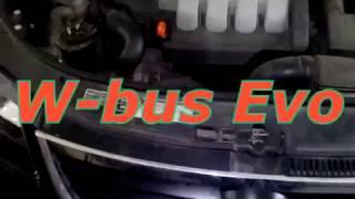 Мини-Таймер W-bus evo на wv Touran