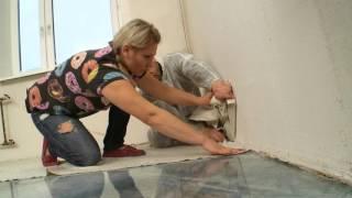 видео Как защитить пол во время капитального ремонта квартиры.