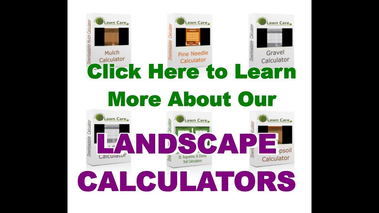 Landscape Calculators - Beginners Guide To Lawn Care