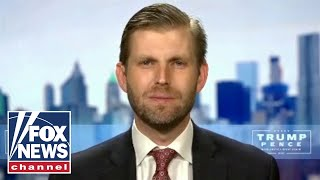 Eric Trump defends President Trump after Dems launch series of attacks at DNC
