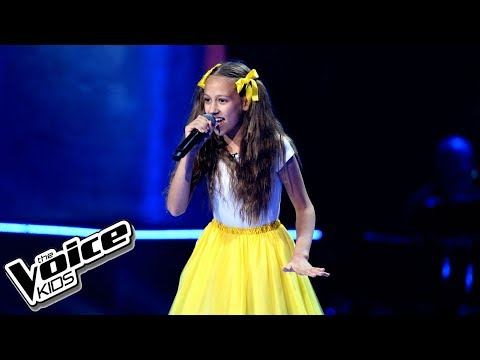 "Gabi Borys – ""Shake It Off"" – Przesłuchania w ciemno – The Voice Kids Poland"