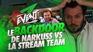 ZEVENT: LE BACKDOOR DE NARKUSS VS LA STREAM TEAM