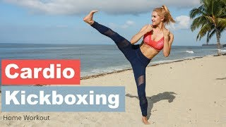 Cardio Kickboxing - BURN FAT AT HOME | Rebecca Louise