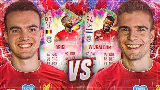 FIFA 20: ORIGI VS WIJNALDUM SUMMER HEAT Squad Builder Battle 😍🤝😎