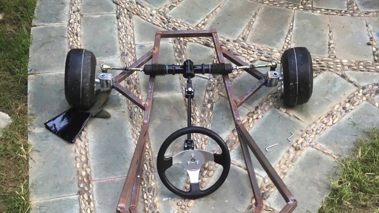Go Kart Frame Plans Homemade