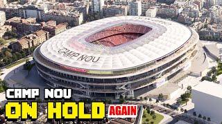 #campnou #stadium #barcelona new camp nou redevelopment on hold (again) follow us instagram: https://www.instagram.com/club355/ facebook: htt...