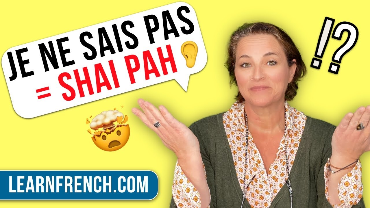 How French sounds in an EVERYDAY FRENCH CONVERSATION // French in Real Life in a FAST FRENCH ACCENT