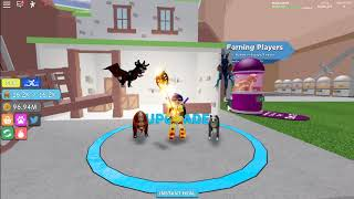 (Roblox)☺Warrior Simulator☺Buying 540M Sword