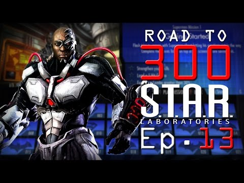 Road to 300 - Ep.13 - Cyborg (S.T.A.R. Labs Mission 121-130)