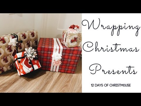 Wrapping Christmas Presents! | 12 Days Of Christm0use