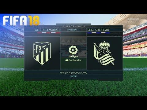 FIFA 18 - Atlético Madrid vs. Real Sociedad @ Wanda Metropolitano