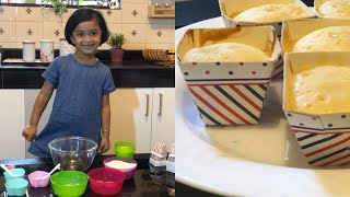 Maryam cooking Vanilla cupcakewithout ovencupcake for kids simple recipeeasy recipe for kids