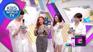 interview with SUNMI & Hwa Sa [Music Bank / 2020.07.03]