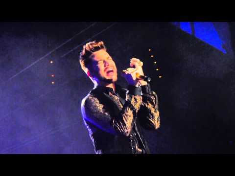 queen adam lambert who wants to live forever munich. Black Bedroom Furniture Sets. Home Design Ideas