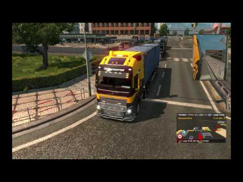 Trips are getting longer (Euro Truck Simulator2 Online)