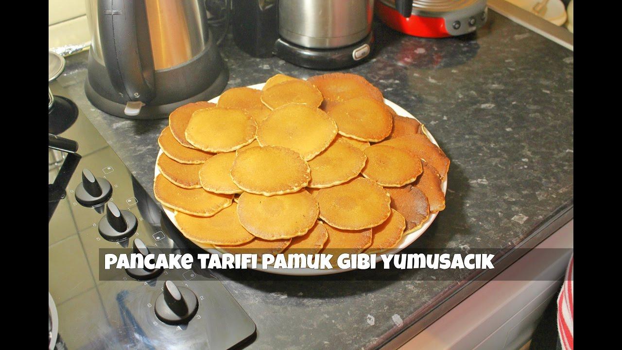 pamuk gibi yumusacik pancake tarifi