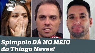 """""""Espera aí... O Cruzeiro caiu, e Thiago Neves fez uma FESTA?"""" Repórter DÁ NO MEIO!"""