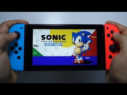 Sega Ages Sonic The Hedgehog Nintendo Switch Gameplay Youtube