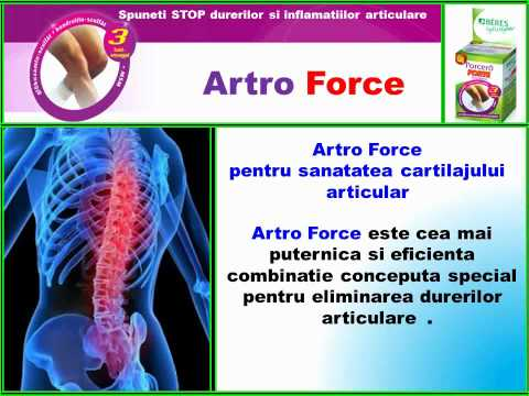 Artro Force. Spuneti STOP durerilor si inflamatiilor articulare - Beres Pharma