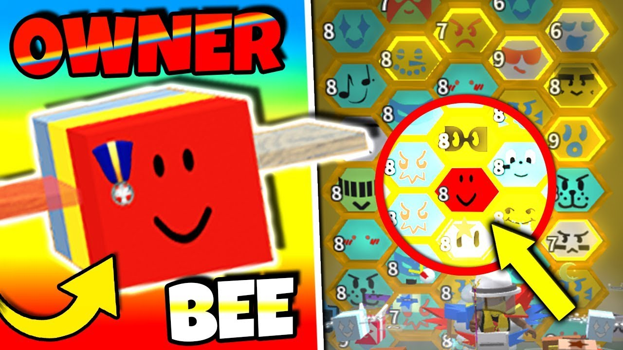 I Found The Owner Bee In Bee Swarm Simulator Onett Bee Roblox