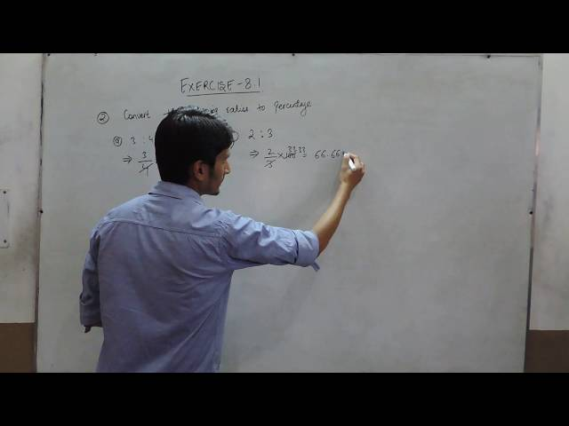 Exercise 8.1 - Question 2 NCERT/CBSE Solutions for Class 8th Maths Comparing Quantities