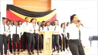Choir Ministration by New Covenant Church Debrecen Choir. Music: Mma Mma by Frank Edwards.
