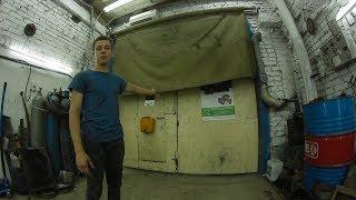 Автоматическая штора в гараж на ворота [PG]