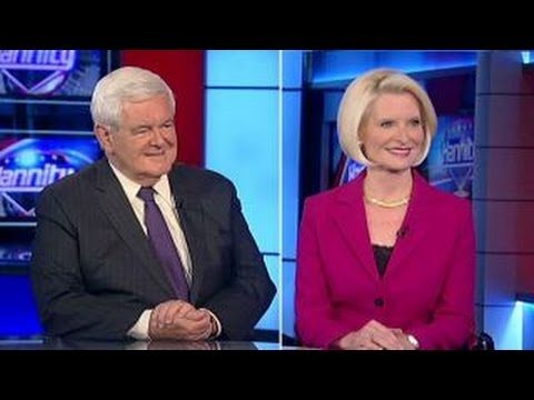Newt, Callista Gingrich on 'Treason,' 'Hail to the Chief'