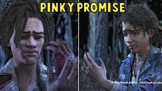 Louis & Clem Talking About Their Lost Fingers - Walking Dead Season 4 Episode 4