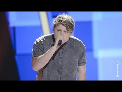 Nick Mcclure Sings Naive  The Voice Australia 2014