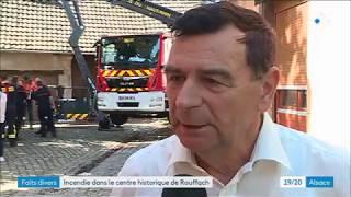 Après l'incendie à Rouffach, appel à la solidarité