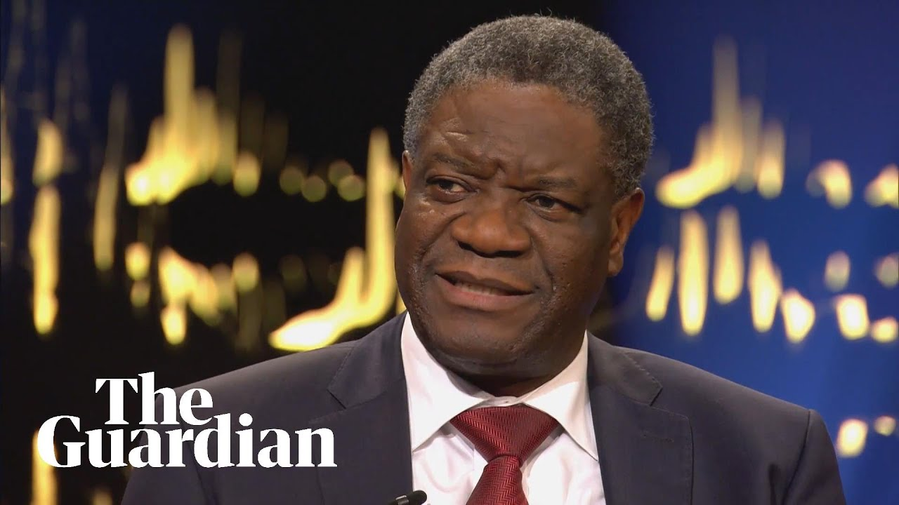 Nobel peace prize joint winner Denis Mukwege on finding hope in the horror of war 
