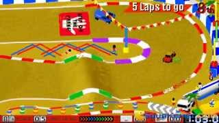 Race Mania gameplay (PC Game, 1995)