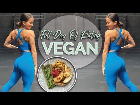 VEGAN BODYBUILDER Full Day Of Eating | IFBB Pro Natalie Matthews